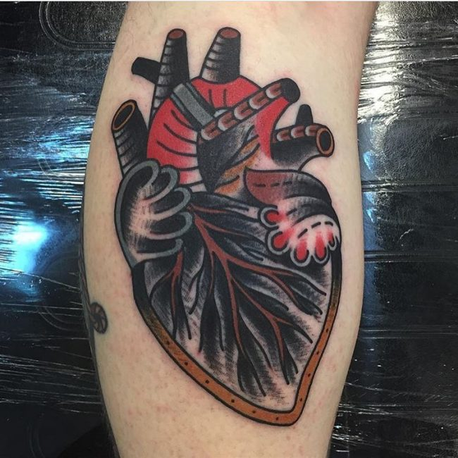 Heart Tattoo 76