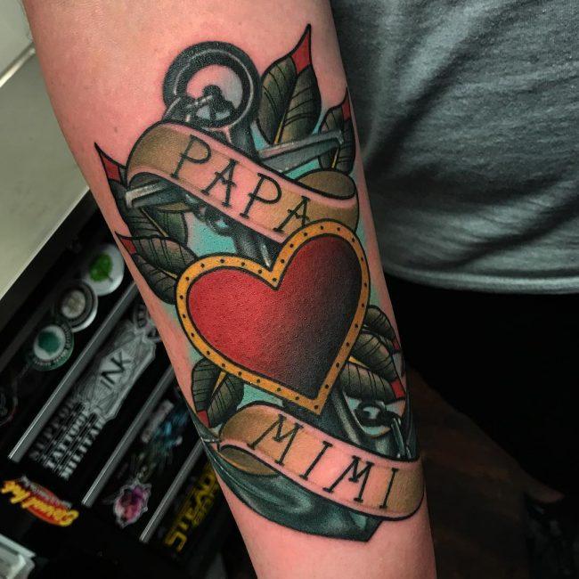 Heart Tattoo 81
