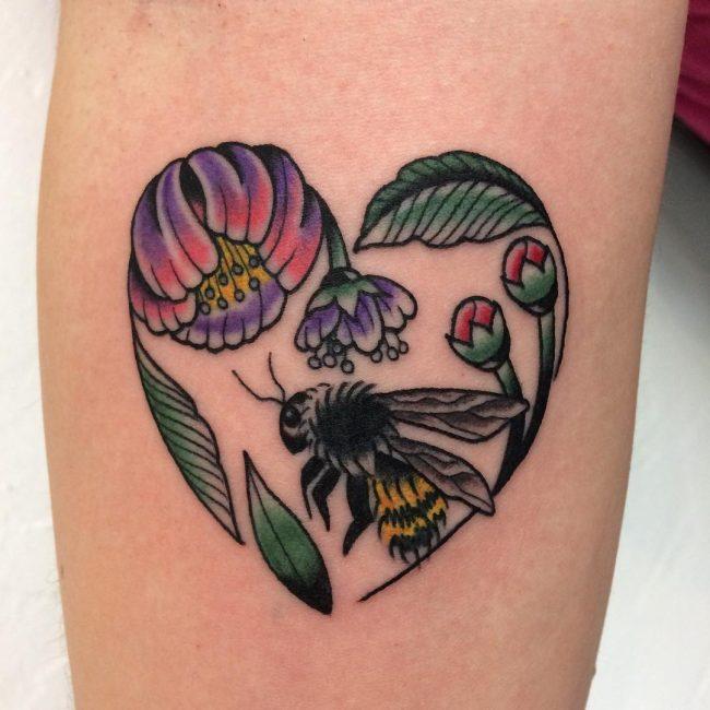 Heart Tattoo 84