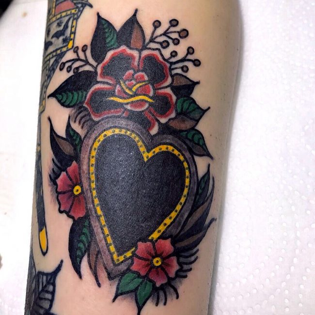 Heart Tattoo 85