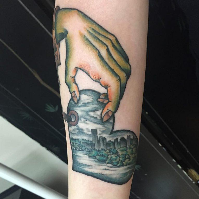 Heart Tattoo 93