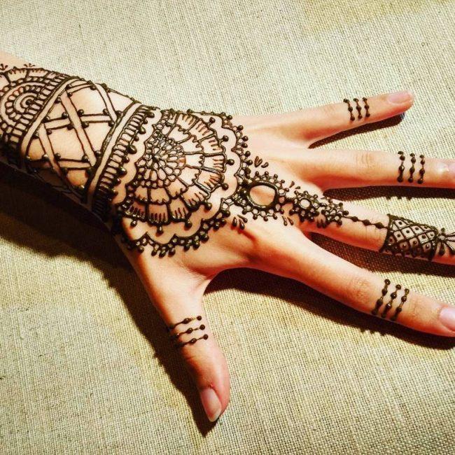 Basic mehndi designs to learn