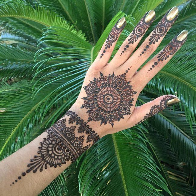 Henna Tattoo 63