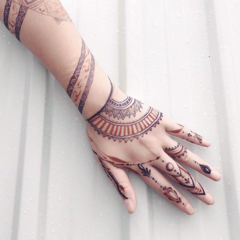 Henna Tattoo 75