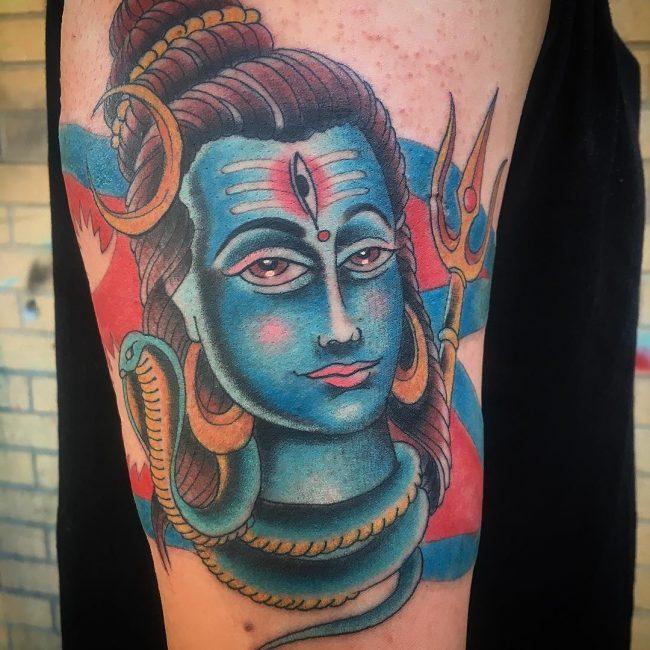Hindu Tattoo 51