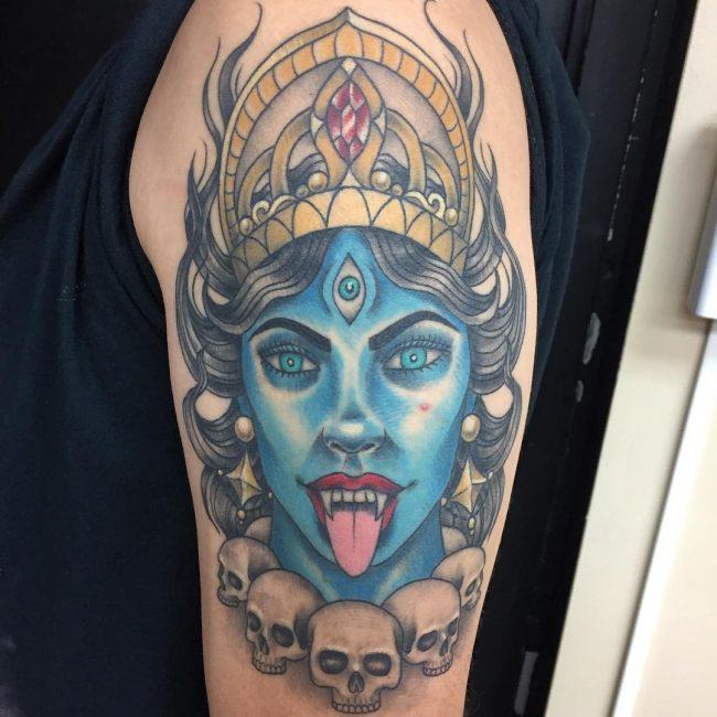 Hindu Tattoo 52