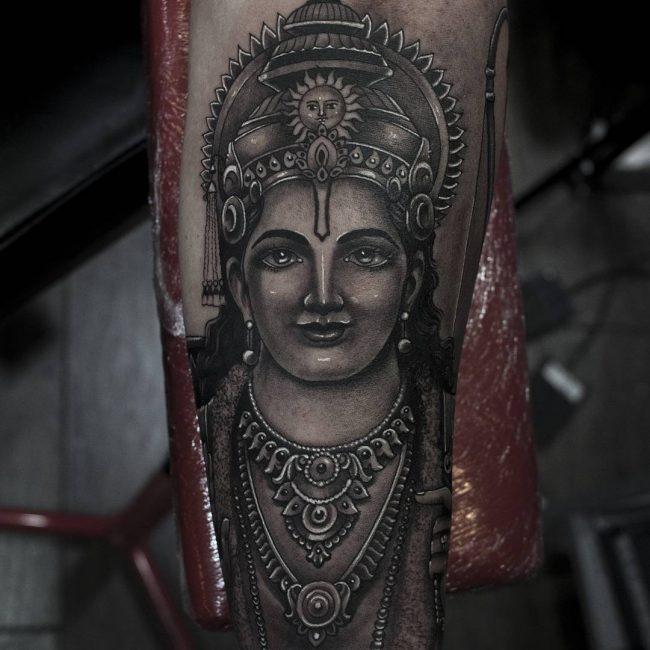 Hindu Tattoo 53