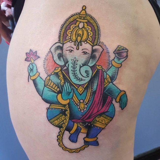 Hindu Tattoo 54