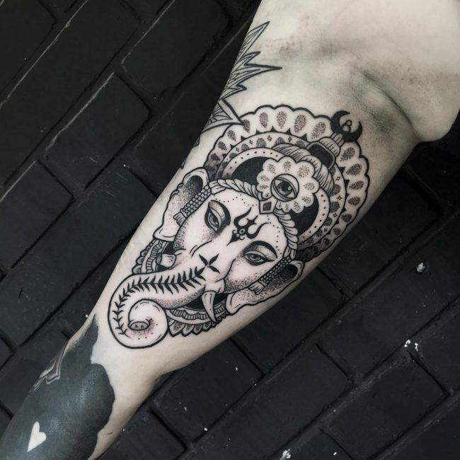 Hindu Tattoo 56