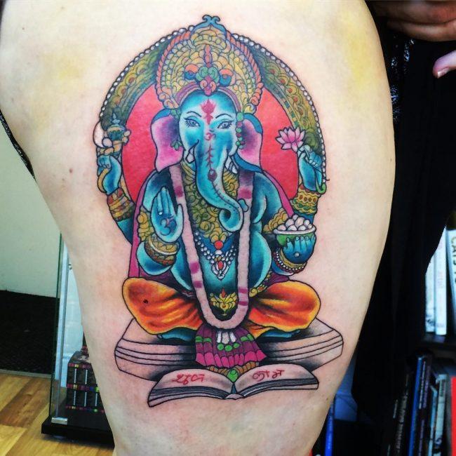 Hindu Tattoo 57