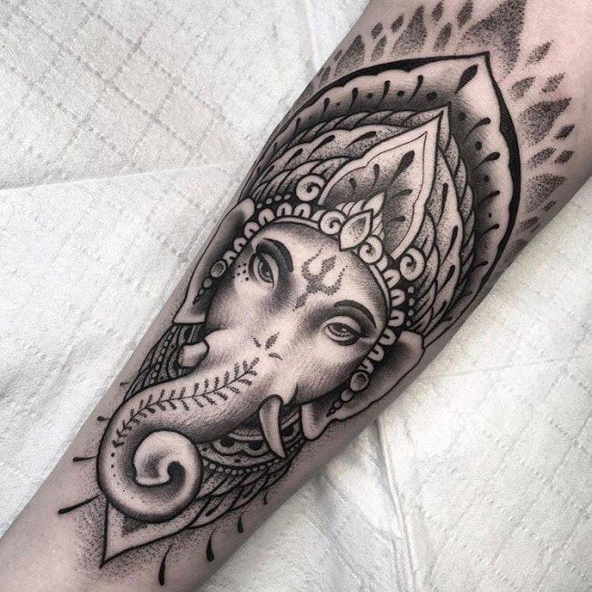 Hindu Tattoo 59