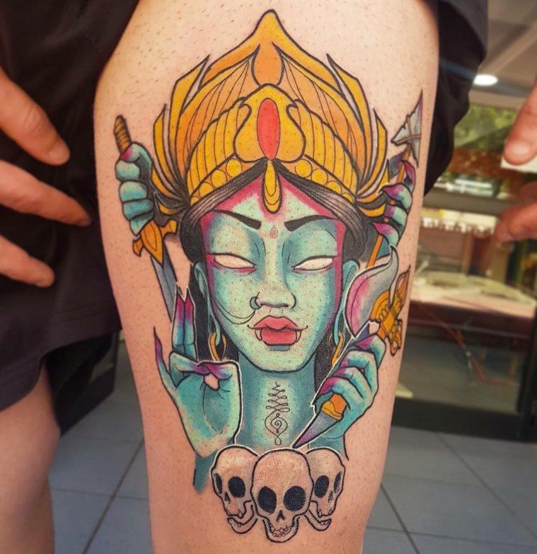 Hindu Tattoo 62