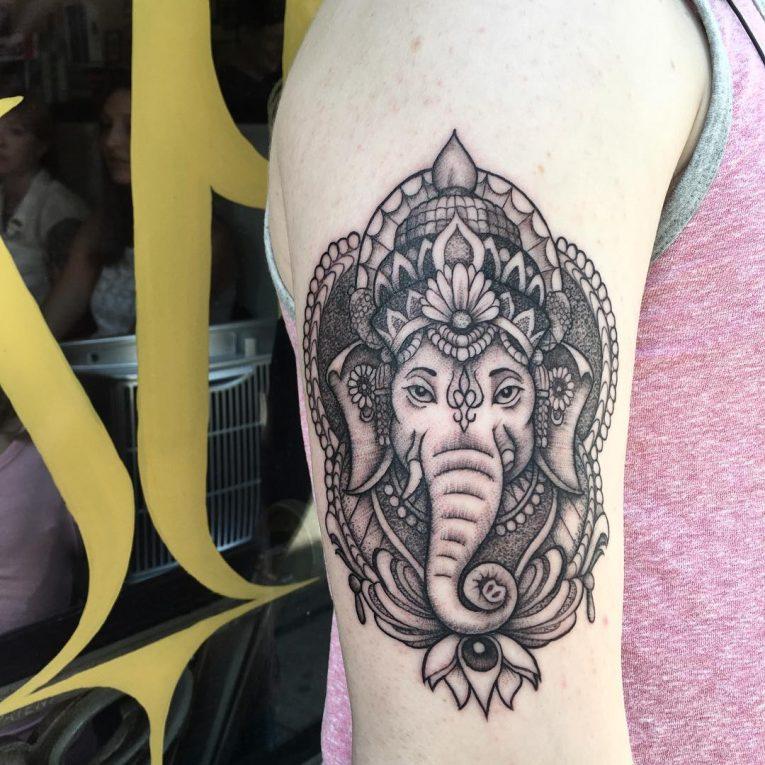 Hindu Tattoo 64