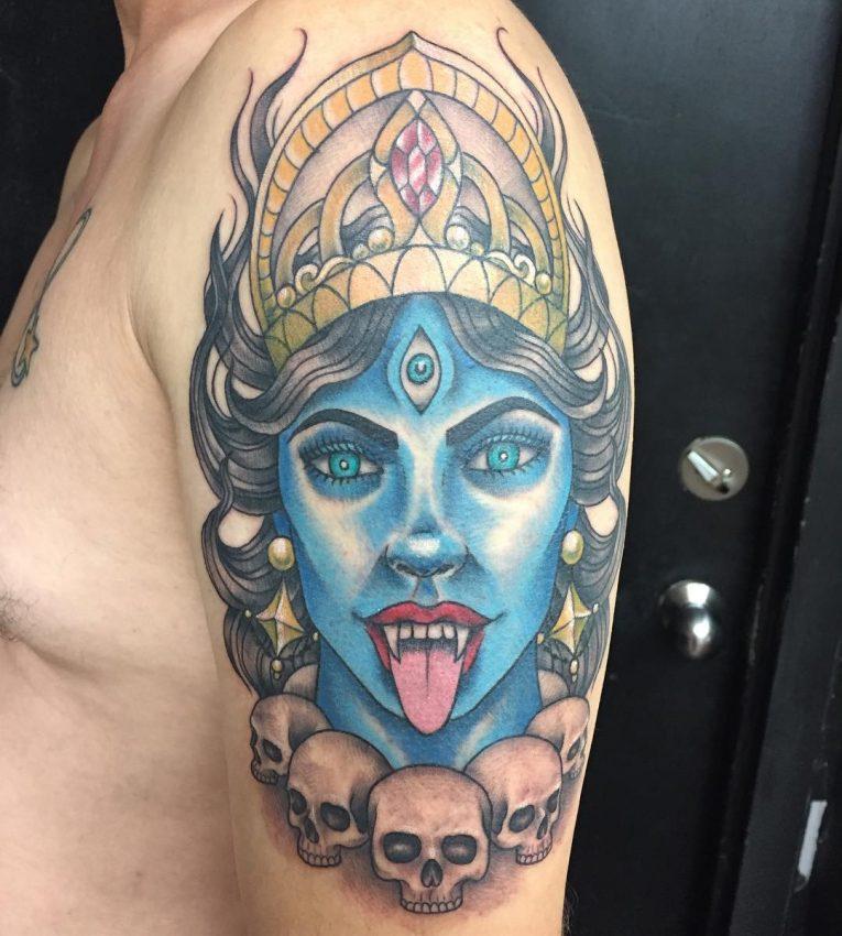 Hindu Tattoo 71