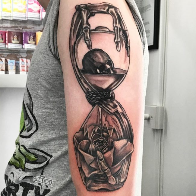 Hourglass Tattoo 66