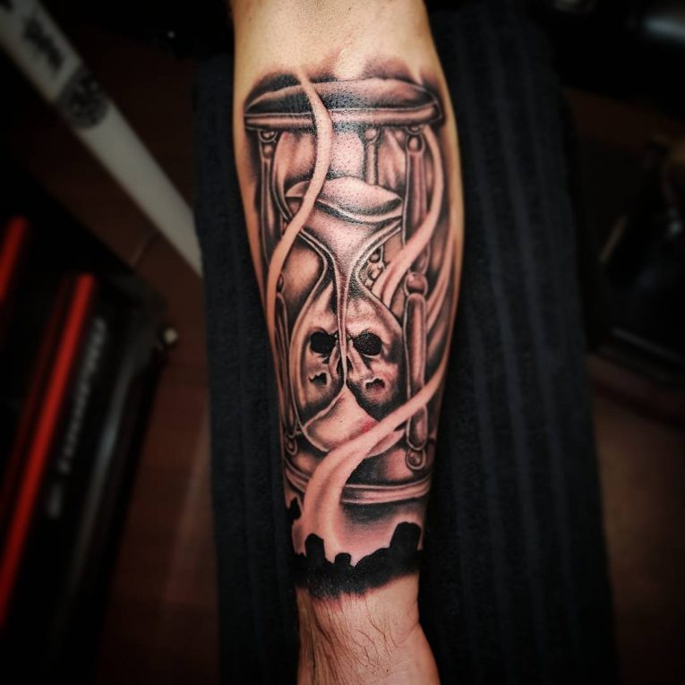 Hourglass Tattoo 78