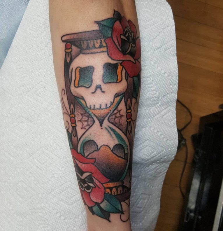 Hourglass Tattoo 84