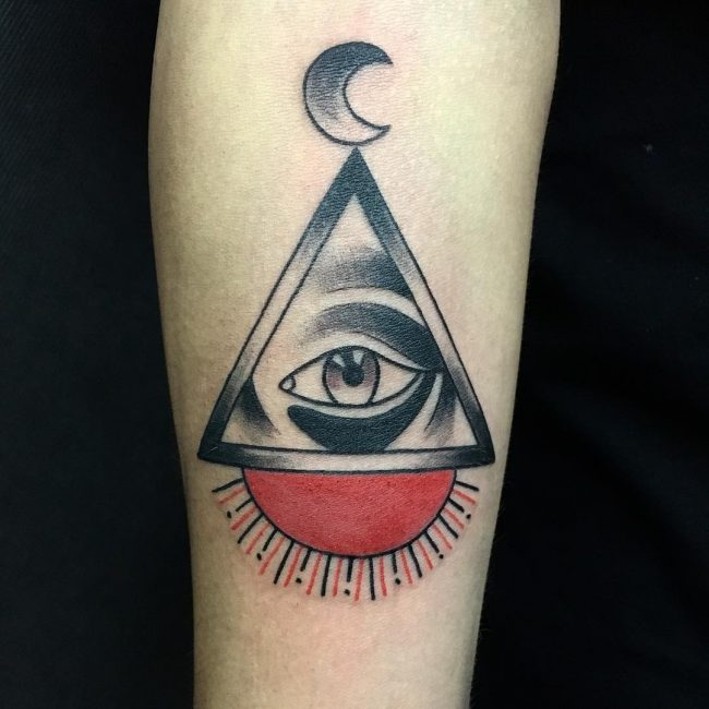 a705198549264 60+ Mysterious Illuminati Tattoo Designs - Enlighten Yourself