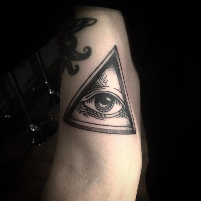 Illuminati Tattoo 43