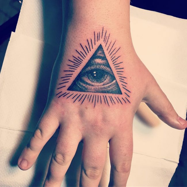 Illuminati Tattoo 46