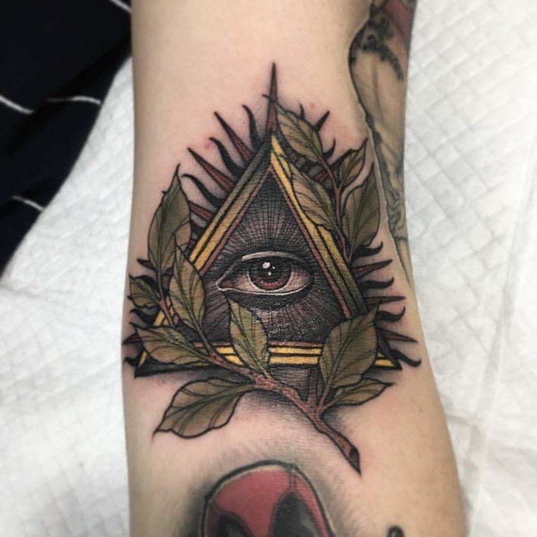 Illuminati Tattoo 58