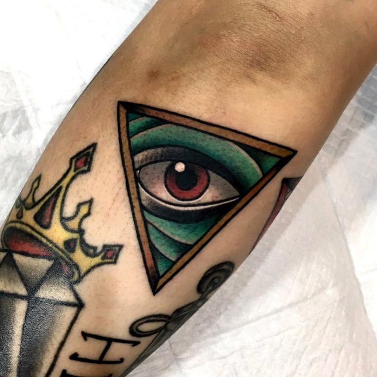 Illuminati Tattoo 60