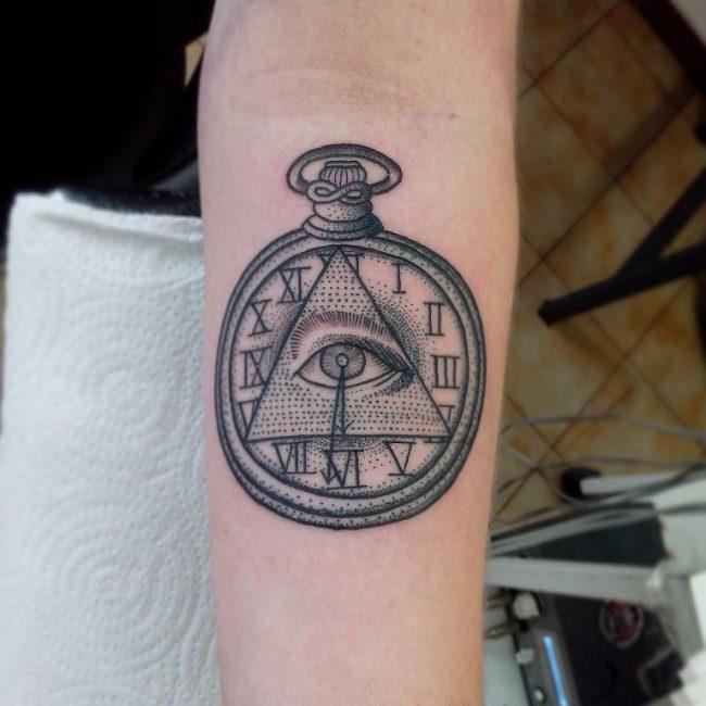 Illuminati Tattoo 41