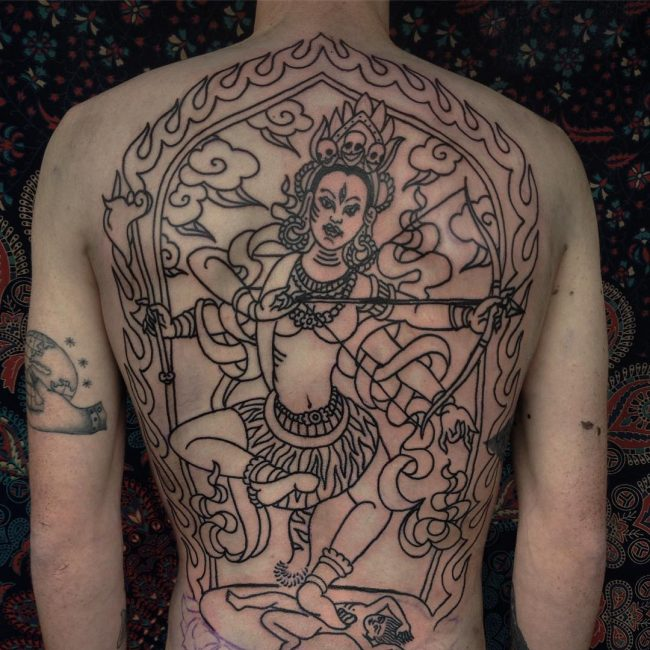 Indian Tattoo 39