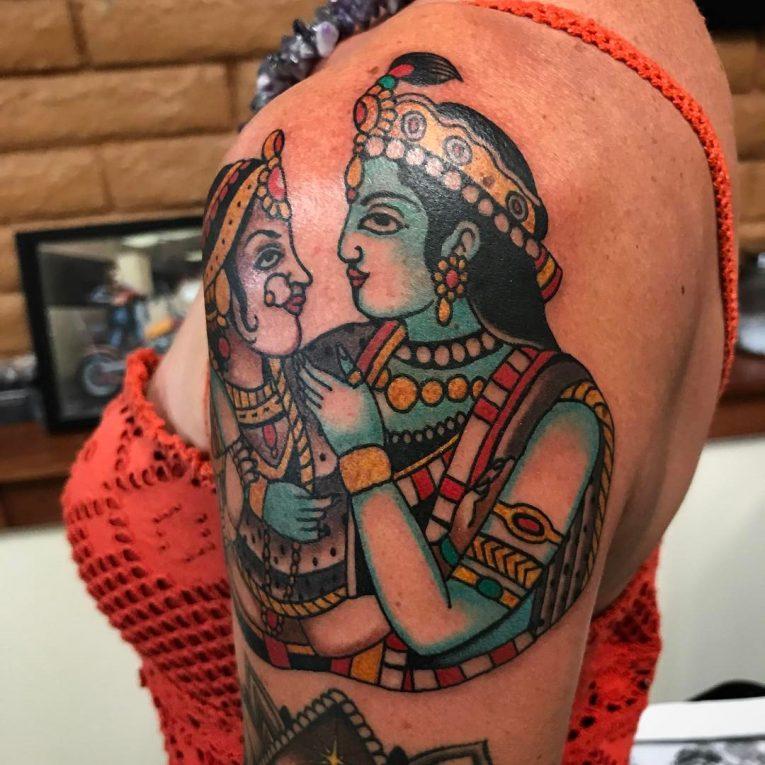 Indian Tattoo 50
