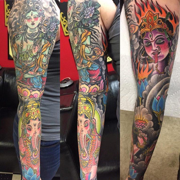 Indian Tattoo 51
