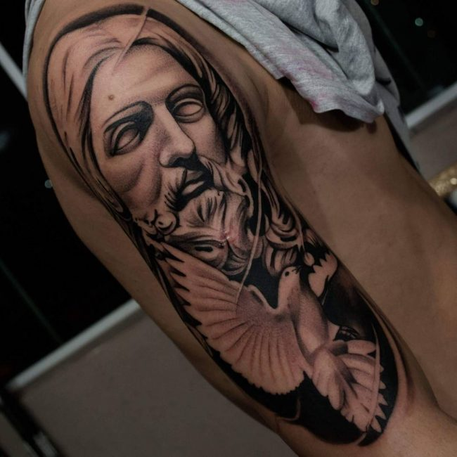 Jesus Christ Tattoo 38