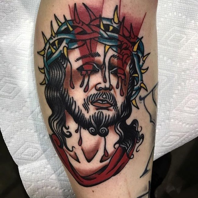 Jesus Christ Tattoo 39