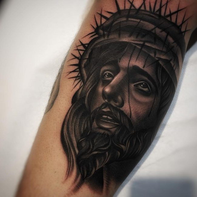 Jesus Christ Tattoo 40