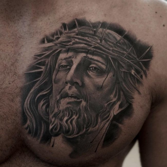 Jesus Christ Tattoo 41