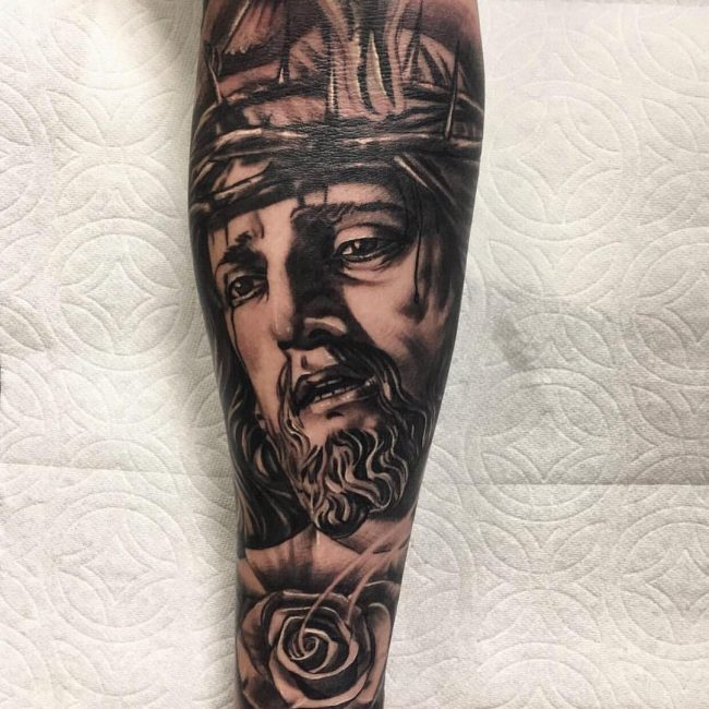 Jesus Christ Tattoo 43