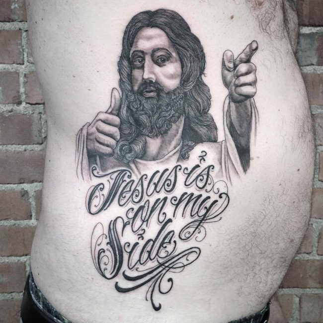 Jesus Christ Tattoo 44