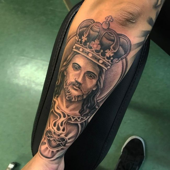 Jesus Christ Tattoo 45