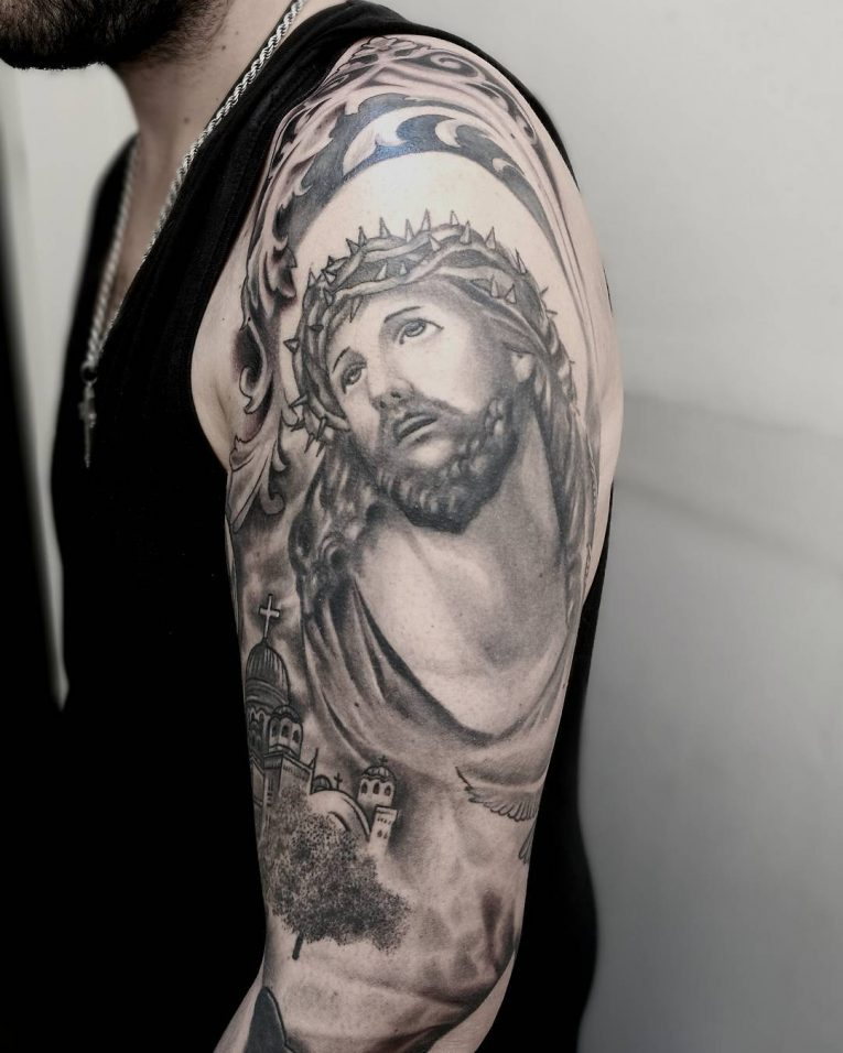 Jesus Christ Tattoo 49