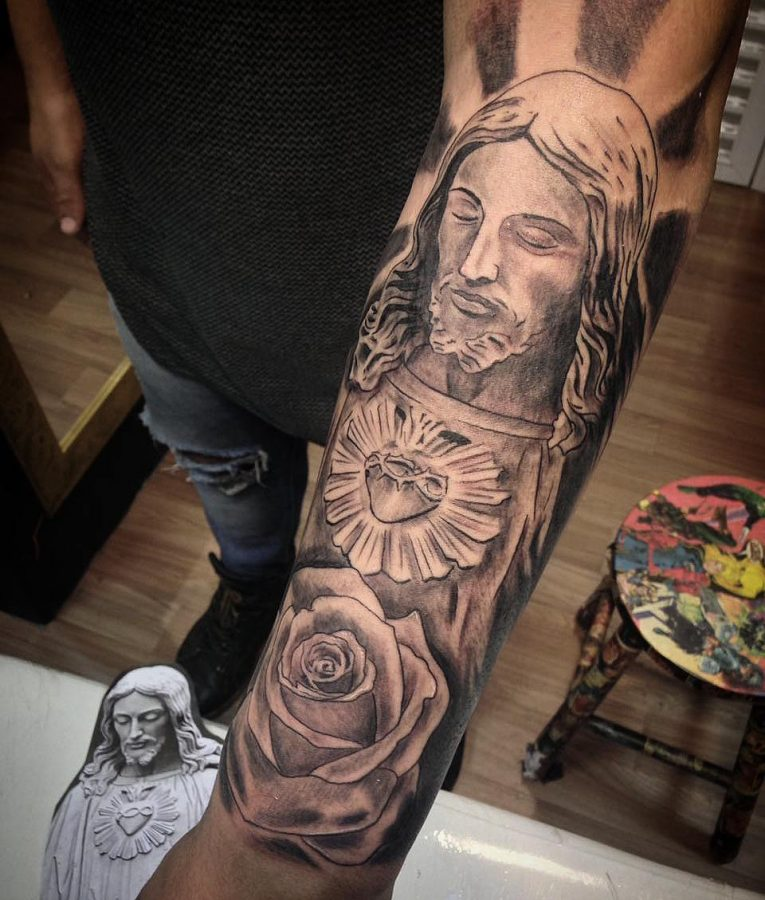 Jesus Christ Tattoo 50