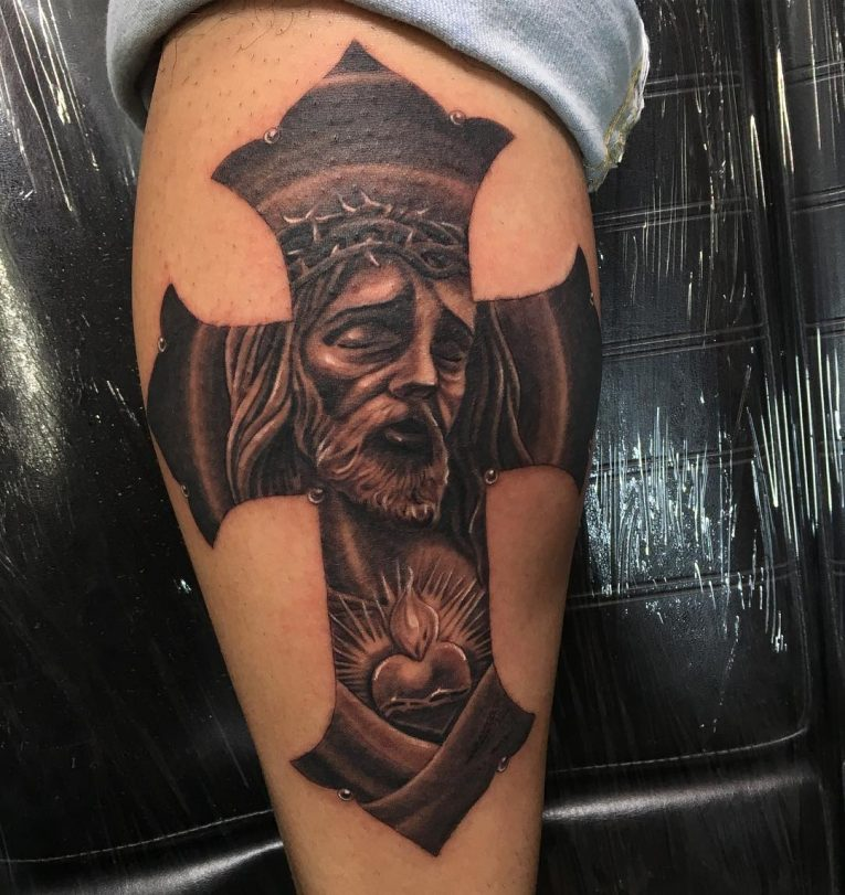 Jesus Christ Tattoo 51