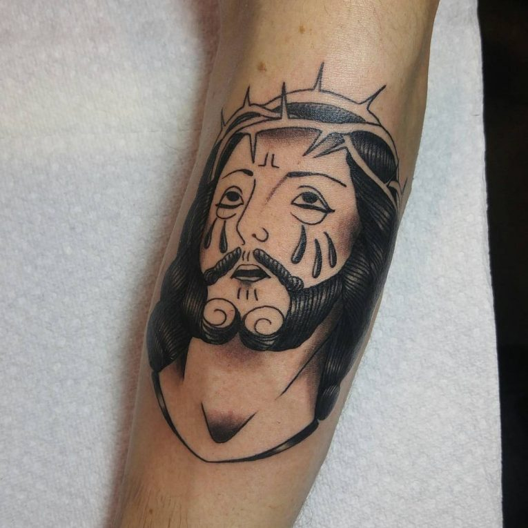 Jesus Christ Tattoo 52