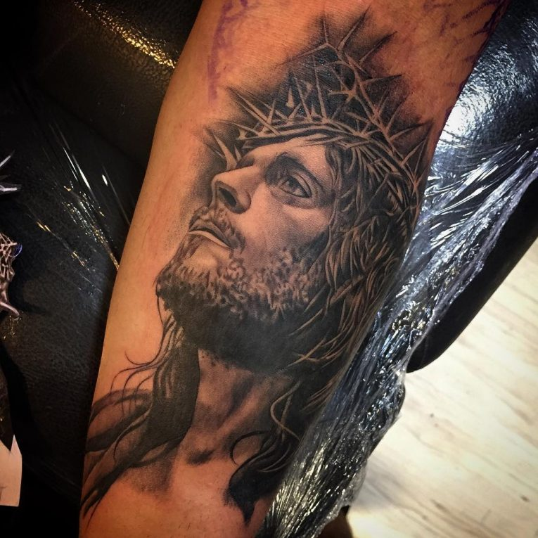 Jesus Christ Tattoo 53