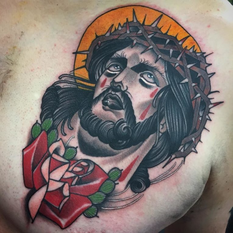 Jesus Christ Tattoo 56