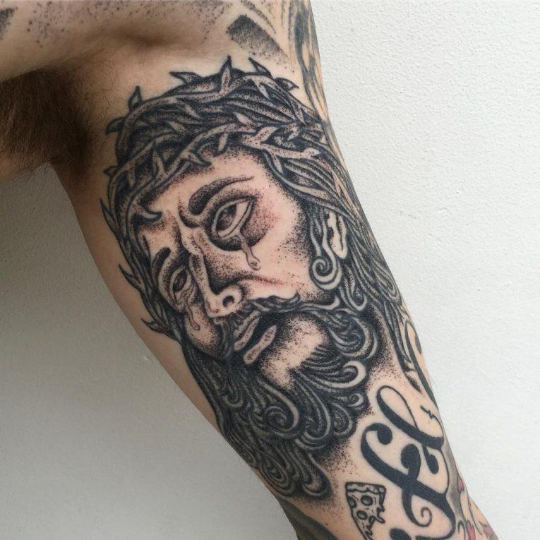 Jesus Christ Tattoo 57