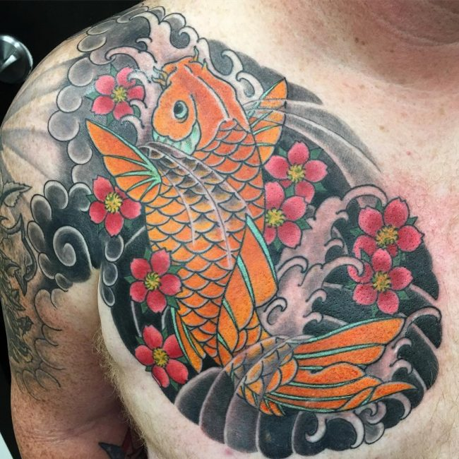Koi fish Tattoo 51