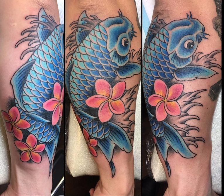 Koi fish Tattoo 59