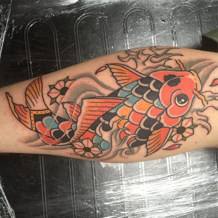 Koi fish Tattoo 63