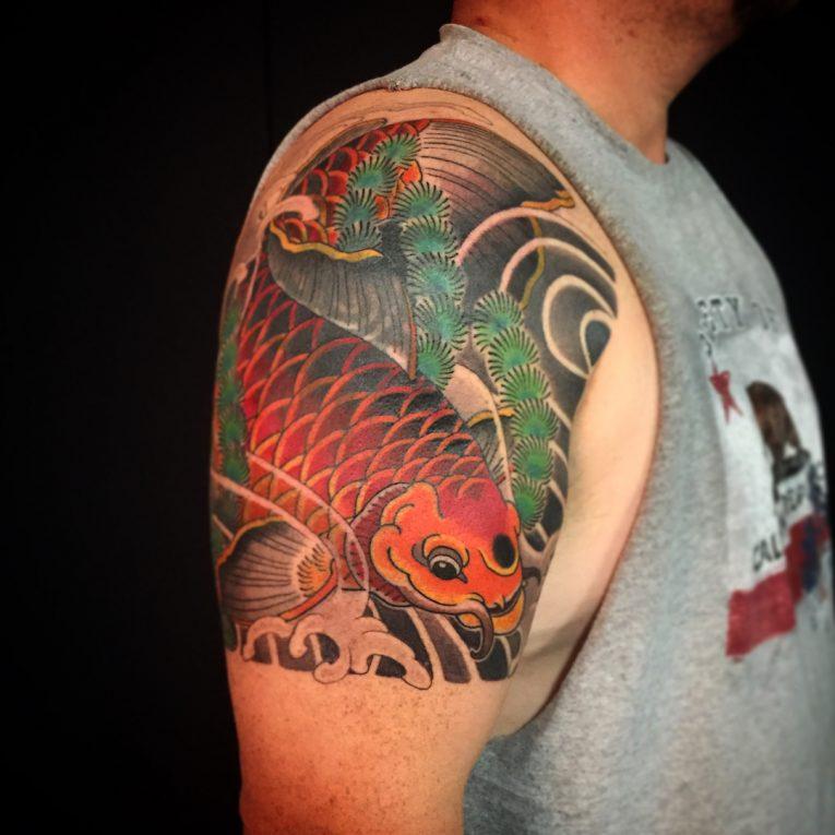 Koi fish Tattoo 67