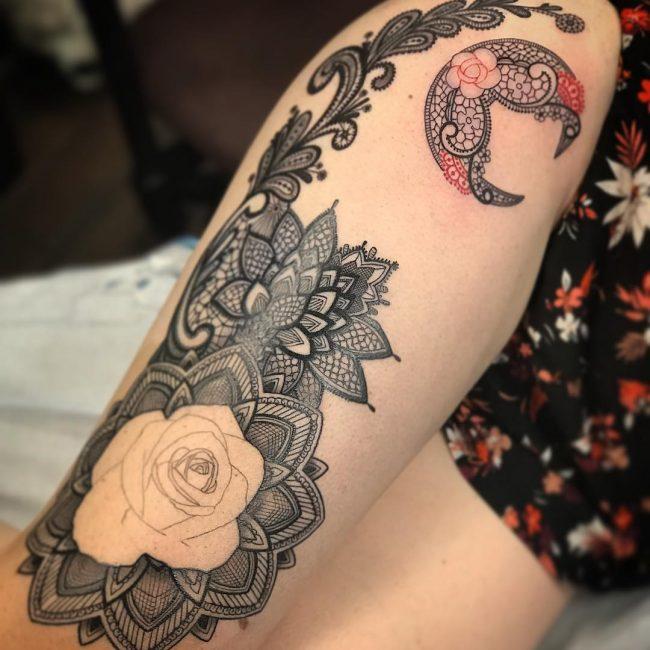 Lace Tattoo 76