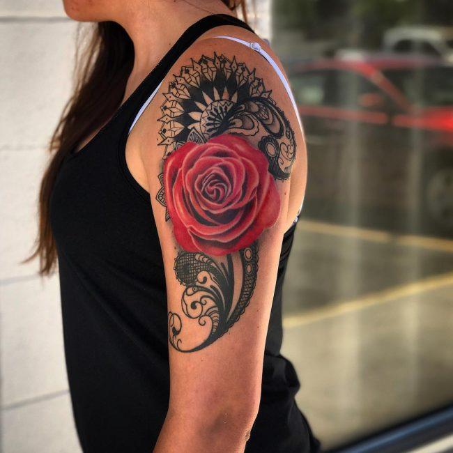 Lace Tattoo 77